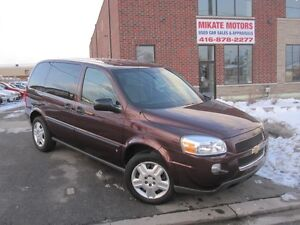 Low Kms 2009 Chevrolet Uplander LS, Fully Certified & E-Tested