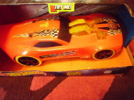 FOR SALE HOTWHEELS CAR LIGHTS AND SOUNDS . BRAND NEW IN BOX.