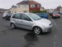 Diesel Ford Fiesta 5 door 1.4tdci in silver, px options available