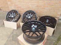 19inch BMW CSL style 19inch alloys ( just refurbed)
