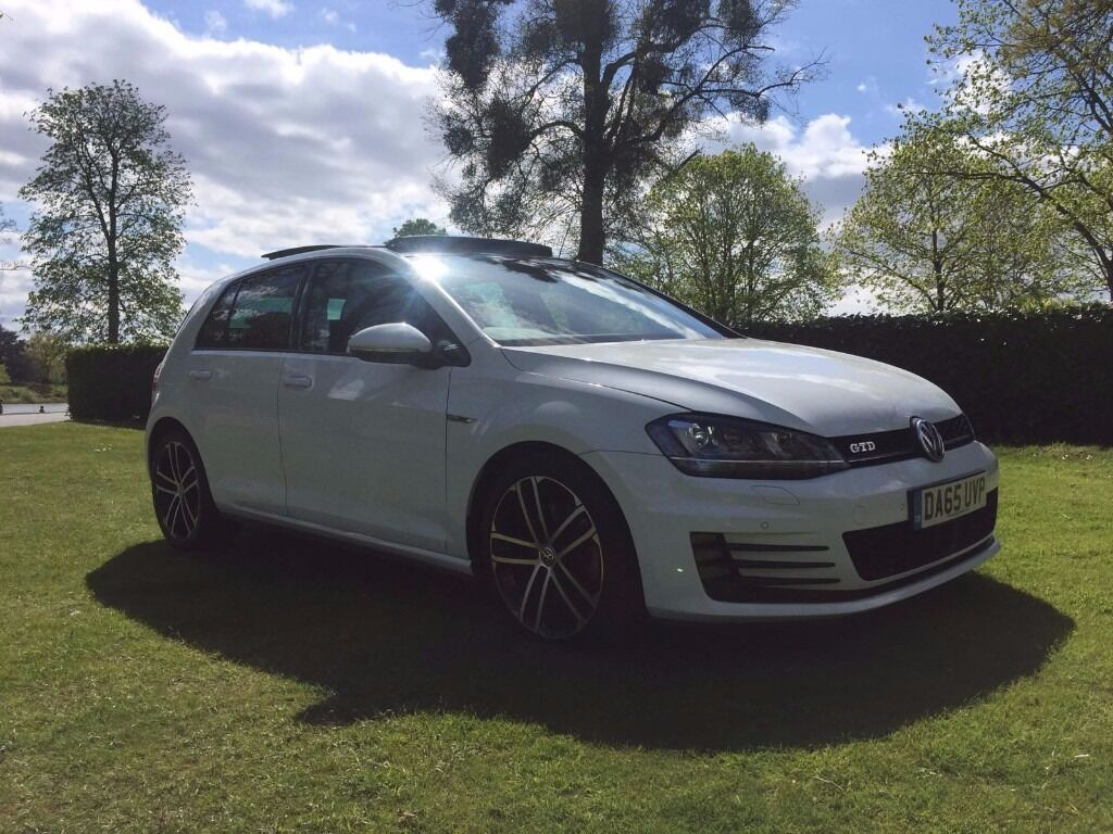 vw golf gtd 2015 mk7 white pan roof px or swap for m3 gti