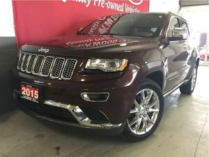 2015 Jeep Grand Cherokee Summit - EXTENDED WARRANTY INCLUDED!!! Oakville / Halton Region Toronto (GTA) image 2