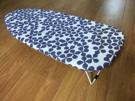 Ironing board with an IRON