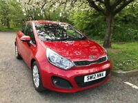 2012 Kia Rio Automatic, HPI Clear, Service history, 2 years warranty. Can arrange finance.
