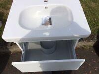 Vanity sink basin