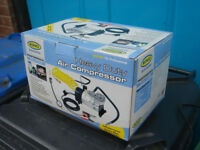 Air Compressor 12v Heavy Duty,Pressure in psi, bar 3 Nozzle Types 2.4m Cable with 7m