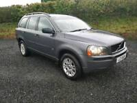 Volvo xc90 d5 s. Diesel 2005 cheap family car jeep 7 seater