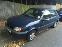2000 Ford Fiesta 1.3 Finesse 5dr, 49k Genuine Miles, Full Service History