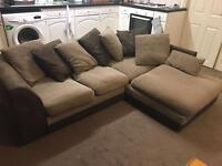 Corner sofa for collection