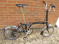 Brompton Bike - Black