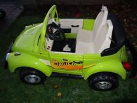 Rare Peg Perego Magica Bug - Childrens Ride On Volkswagen Beetle