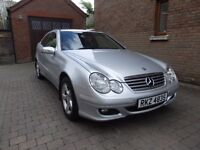 06 Merc C Class Coupe £2600 Trade In Welcome