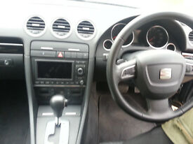 2011 Seat Exeo Sport Tech TDI 143 DSG Automatic, xenon headlights, nav, bluetooth, cruise, black