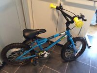 "Kids Apollo Ace 16"" Halfords bike"