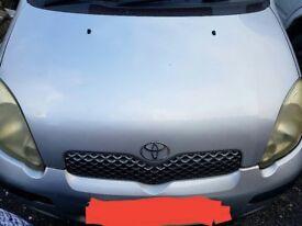 Toyota Yaris Bonnet 2000-2005