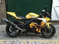 2005 Yamaha R6 – Rossi numbered edition R46 Model 05 04 03