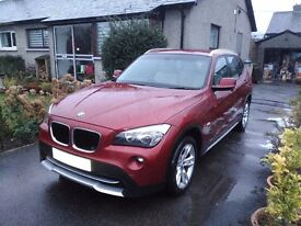 BMW X1 SE 18D X Line 2010, 60 plate Low mileage for the year 47,500 4X4