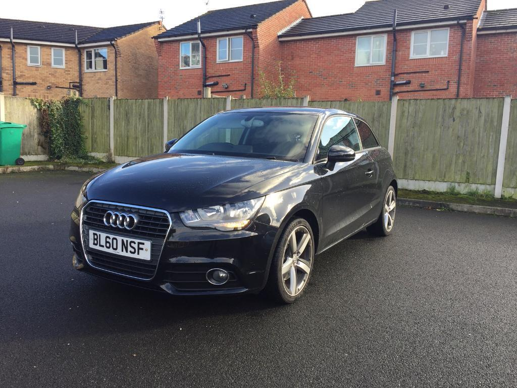 AUDI A1 1.4 TFSI 3 DOOR BLACK 2011 LOW MILES/EXCELLENT EXAMPLE
