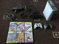 Xbox 360 with 6X games, Kinect & 2X controllers