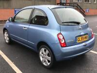 2009 (Dec 59) NISSAN MICRA 1.2 N-TEC - Hatchback 3 Door - Petrol - Manual - BLUE *MOT/FSH/SAT NAV+SD
