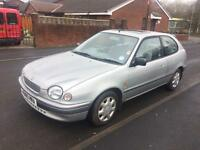 1999 Toyota Corolla GS 1.6.. ✅long mot ✅ low milage ✅ very clean throughout