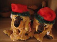 Ty Beanie Baby Jingle Pups