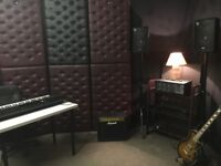 Fully Equipped Rehearsal Studio for hire in Stockport!