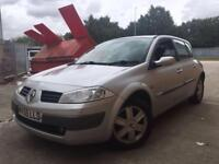 2005/55 Renault Megane Dynamic 1.5 DCi 5dr Hatchback, DIESEL, 1 Previous Owner, £30 TAX A YEAR!