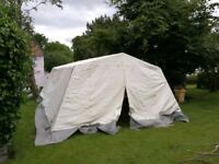 6 x 4.4m Marquee: Large Group Mess Tent for groups, Scouts, Guides, Boys Brigade