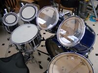 7 Piece Pearl Session Elite in blue
