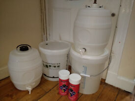 Home brew kit with 2 red wines starter