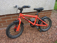 Frog 43 Child's first pedal bike - red