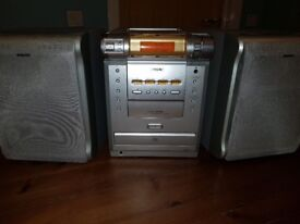 Sony stereo system with speakers