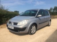 2005 RENAULT SCENIC 1.6 VVT DYNAMIQUE FULL LEATHER, NEW MOT, NEW CLUTCH, PANORAMIC GLASS ROOF!