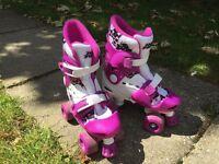 No Fear Quad Skates Girls Size UK C10-C13