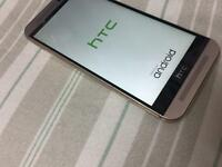 HTC M9 32GB FACTORY UNLOCKED ANY SIM CARD GOLD LIKE NEW £165 NO OFFERS