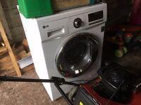 LG washing machine washer dryer