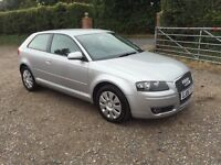 Audi A3 1.6 3dr, Automatic, 6 MONTHS FREE WARRANTY, FULL SERVICE HISTORY
