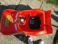 Lightning McQueen batteryride