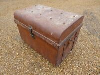 Antique Metal Travelling/Storage Trunk