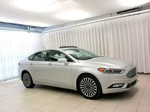 2017 Ford Fusion SE ECOBOOST AWD SEDAN w/ Factory Remote Start,