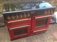 Red Range Master Gas cooker...... Mint free Delivery
