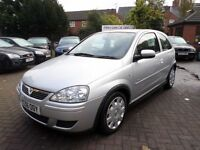 Vauxhall Corsa 1.3 CDTi 16v Design 3dr (a/c) 2006 (56 REG) £30 TAX A YEAR, SILVER, 1 OWNER FROM NEW