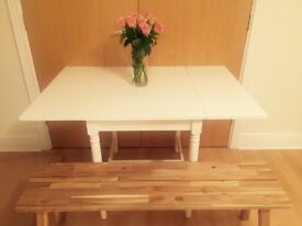 4 Seater Dining Table c/w 2 chairs