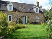 2-bed holiday cottage in Aberlour for rent over winter months