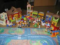Huge HappyLand bundle in excellent condition with large zipped playmat