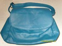 Luca Bocelli teal handbag