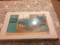 Band new single bed sliver frame