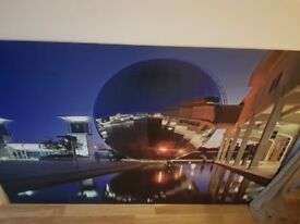 Large metal picture