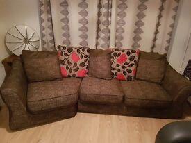 Comfy and stylish Sofa bed / sofa with storage